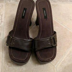 Xhilarition brown heels